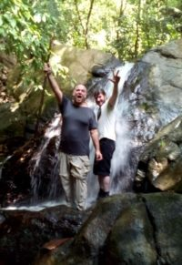 john kapelos costa rica waterfall