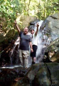 john kapelos costa rica waterfall