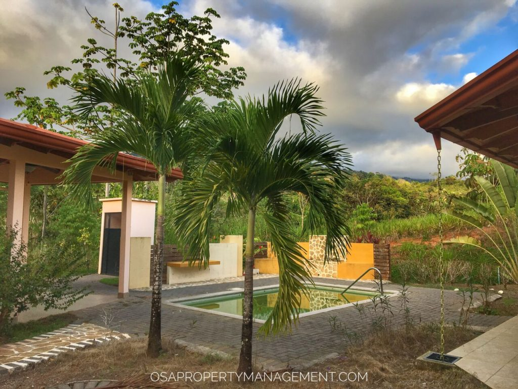 costa rica vacation home pool tranquilidad