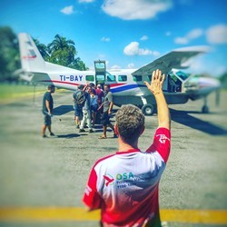 airplane for private costa Rica tour