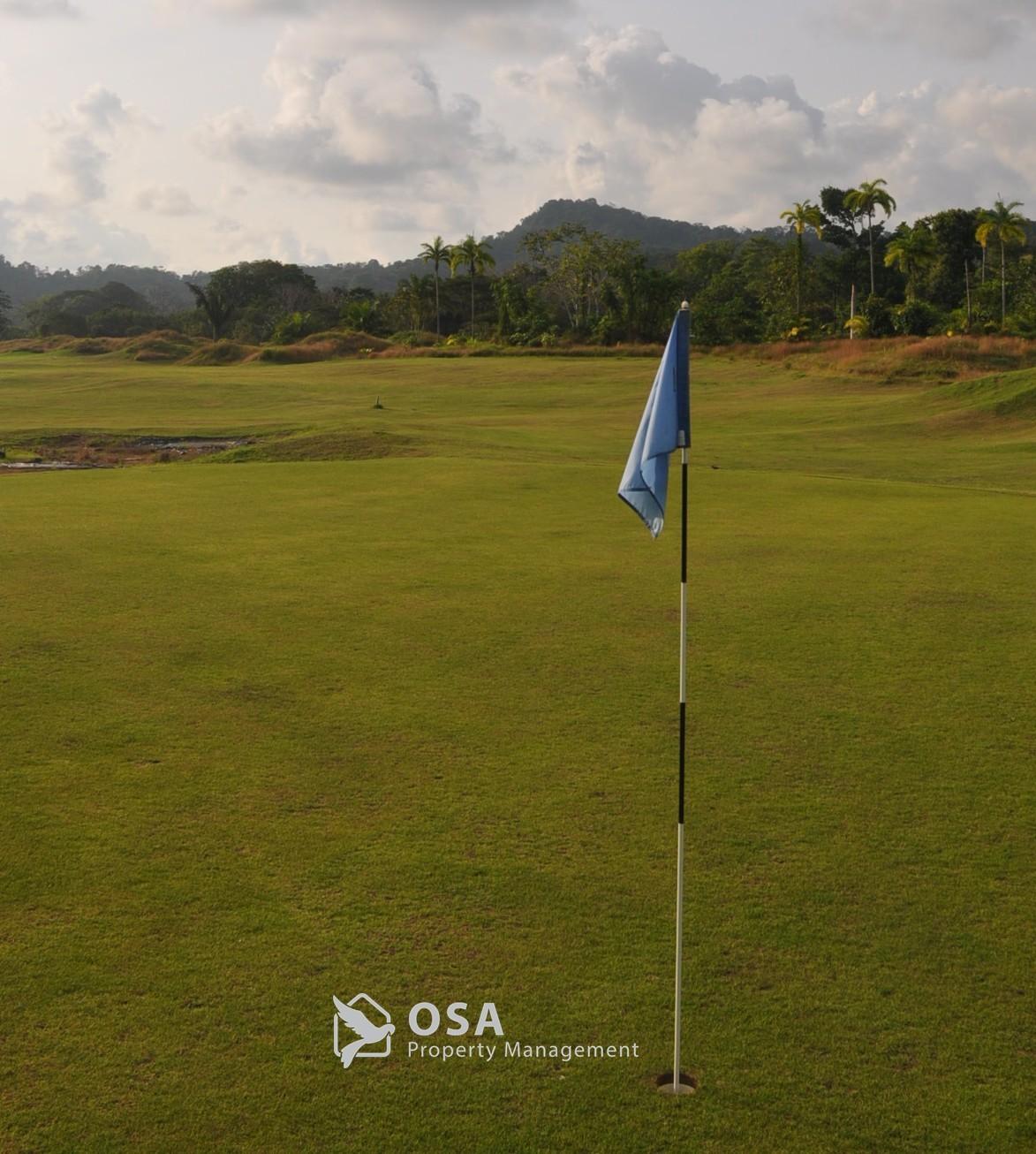 san buenas golf resort flag