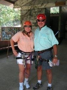 lisa and scott norman zipline