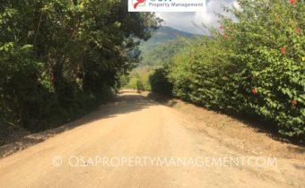 san buenas paved road