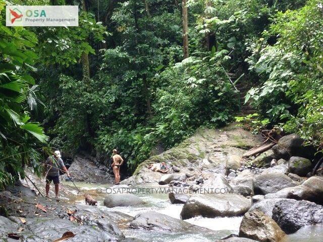 uvita waterfall tour creek