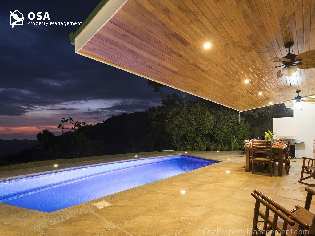 costa rica vacation rental tres rios osa patio