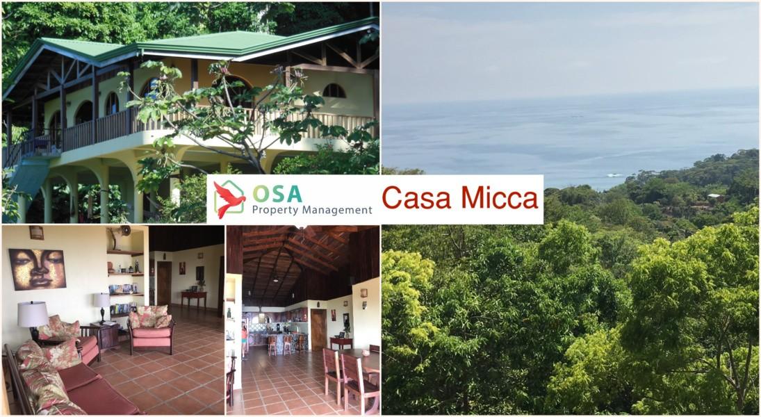 Casa Micca Uvita Home Rental