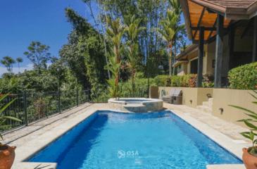 casa aventura ojochal pool 2