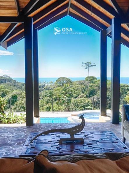 casa aventura ojochal pool ocean