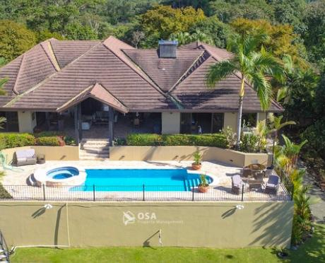casa aventura ojochal vacation rental aerial