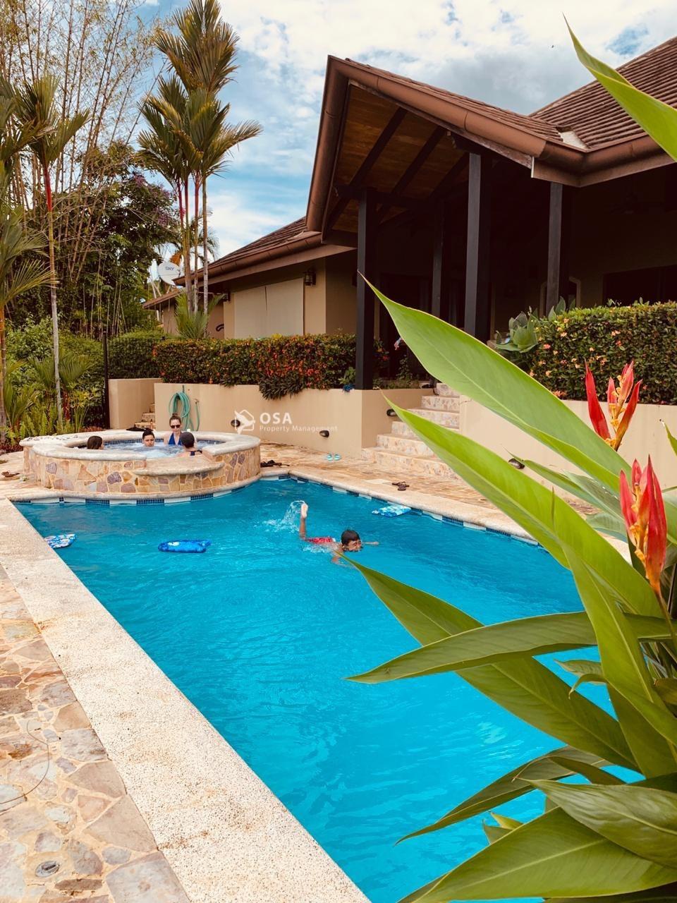 ojochal luxury home aventura swimming pool