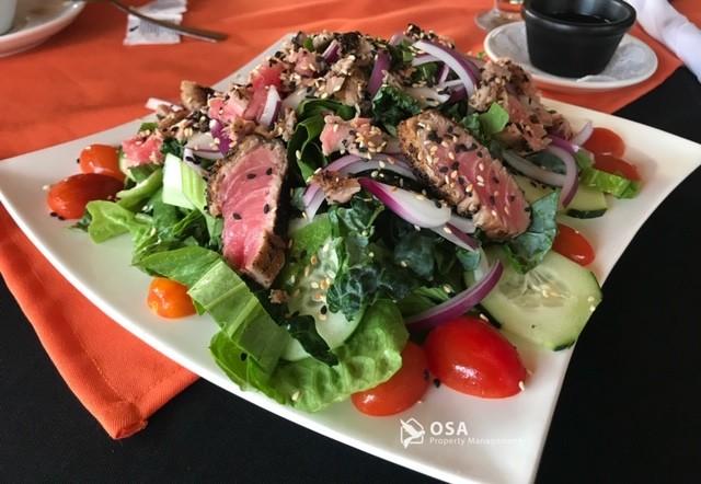 fusion restaurant ojochal tuna