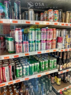 grocery shopping in uvita bamboo alcohol
