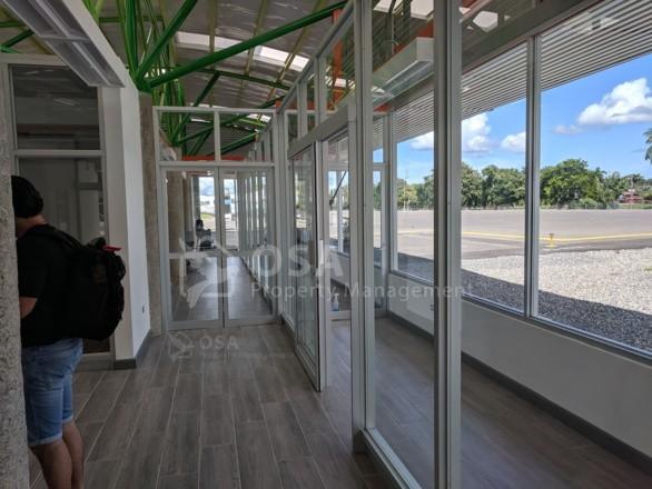 inside new palmar sur airport