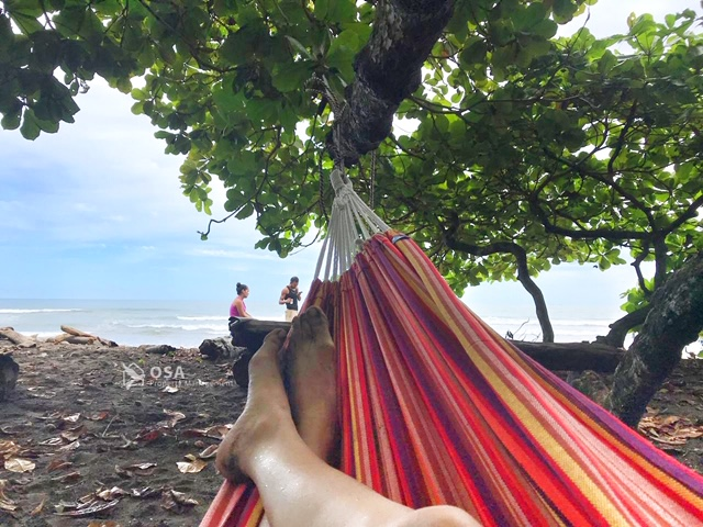 relaxing playa hermosa costa rica