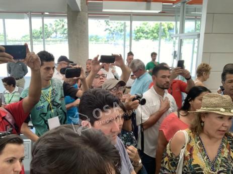 costa rica president visit media