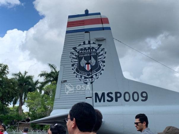 president of costa rica plane1