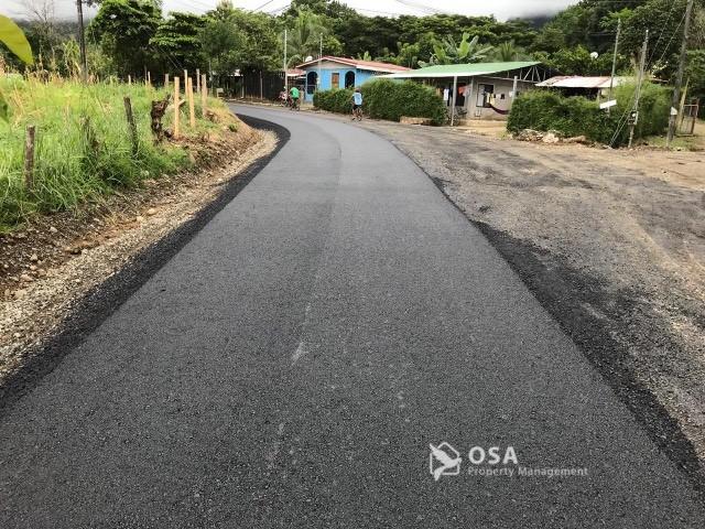 san buenas asfalt road
