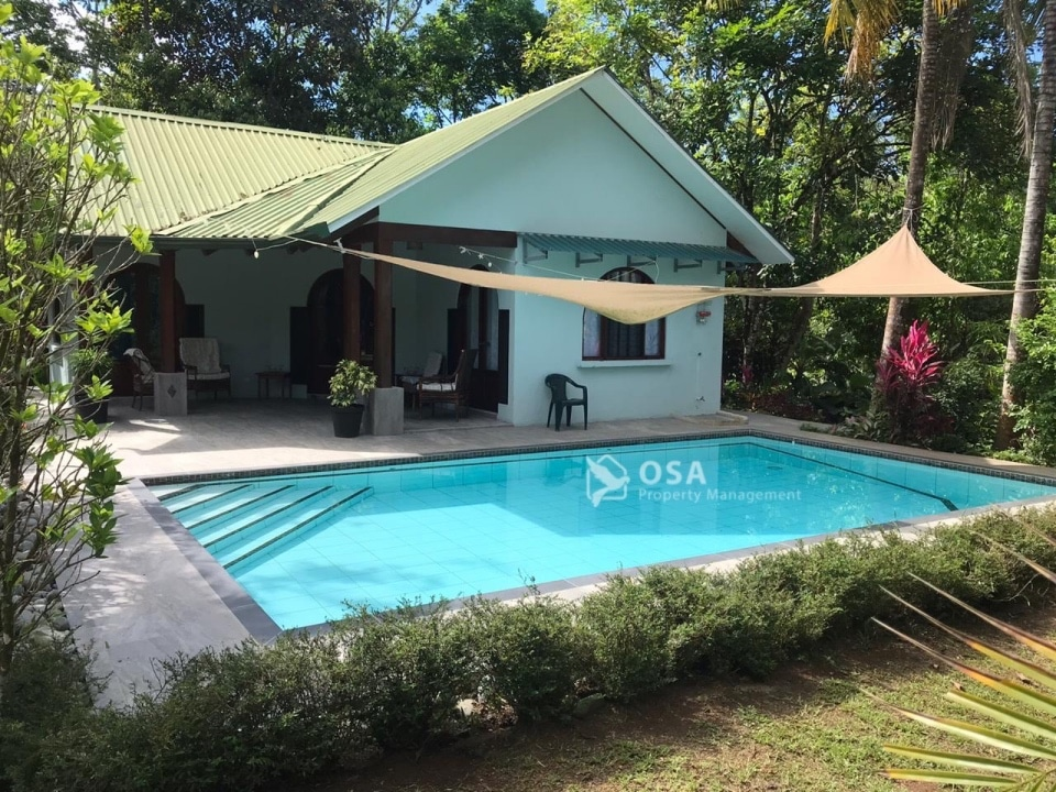 ojochal vacation rental lluvia swimming pool2