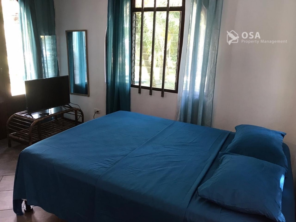 ojochal villa lluvia bedroom