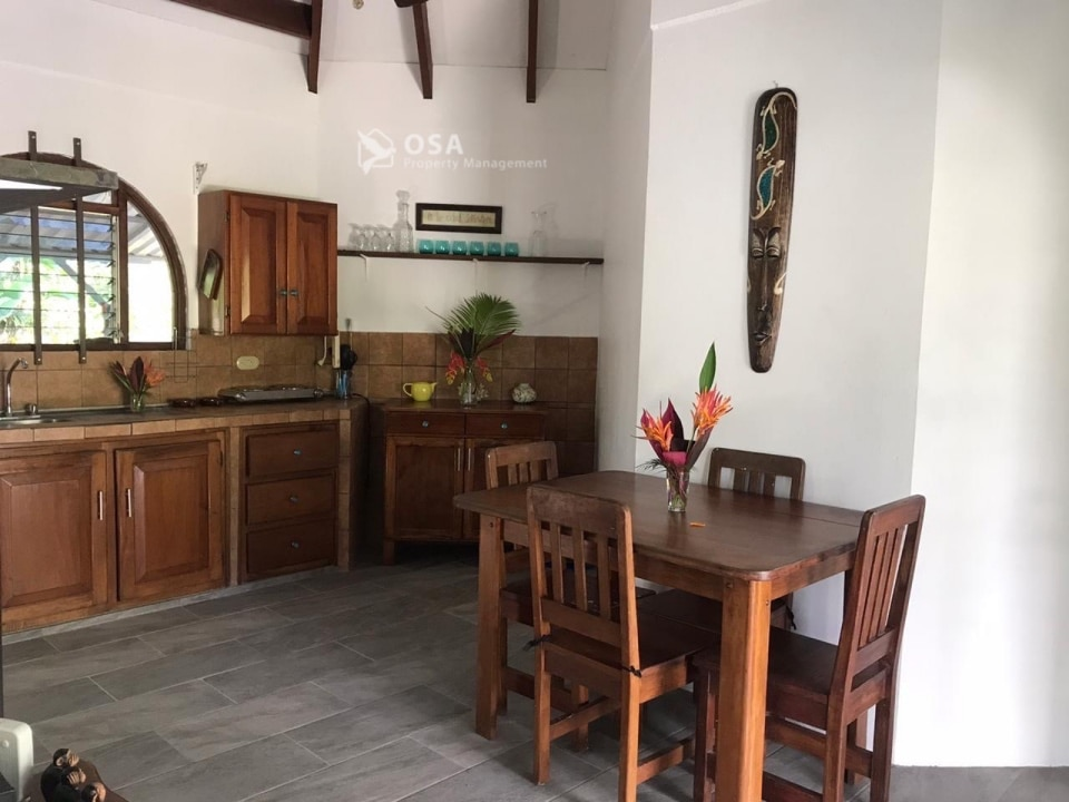 ojochal vacation rental kitchen