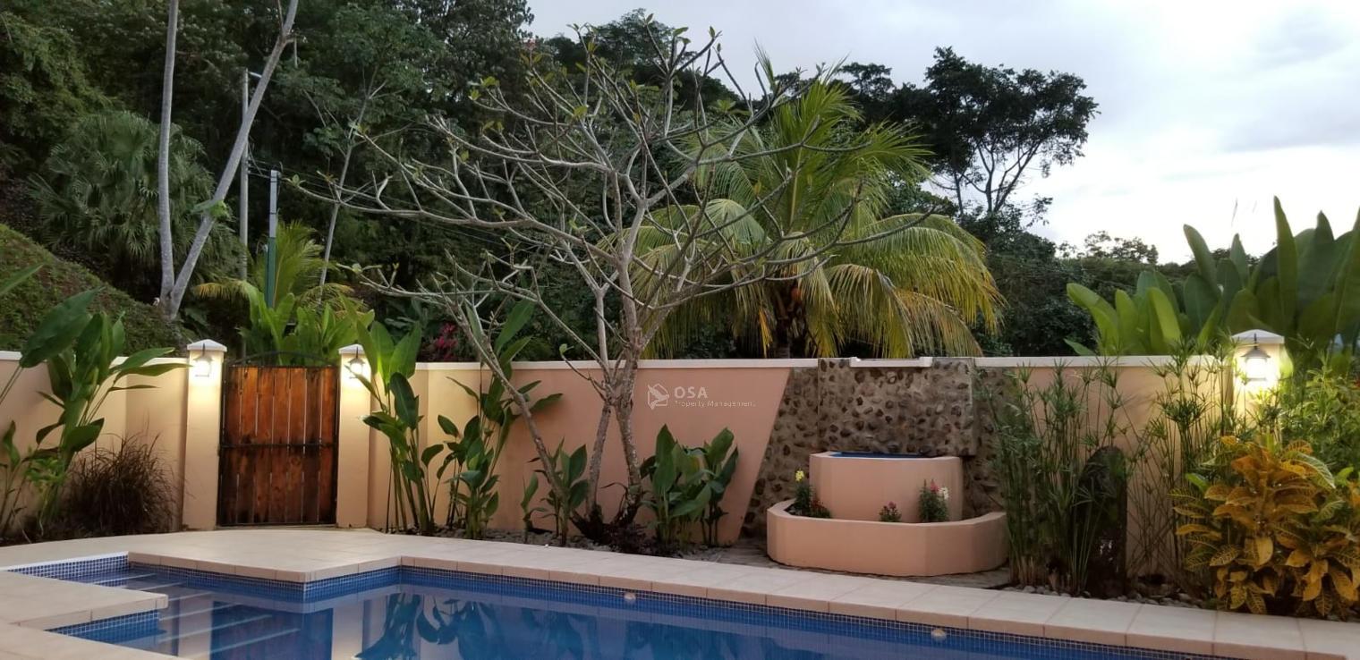 ojochal rental villa promesa pool