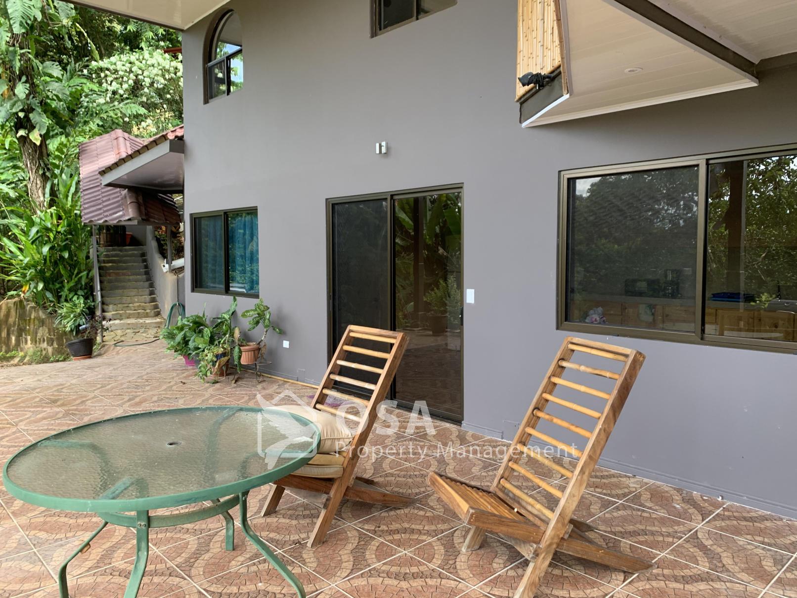 Uvita rental apartment 1 porch