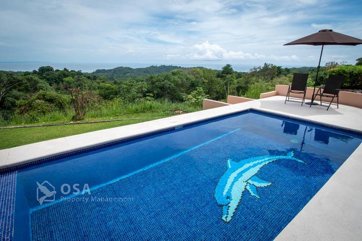 villa vida gracia ojochal pool 2