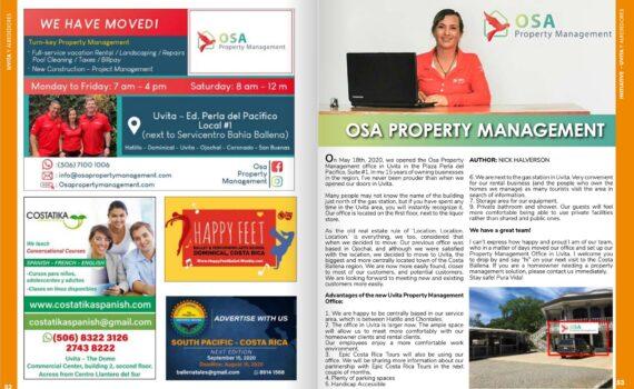 Ballena Tales Osa Property Management
