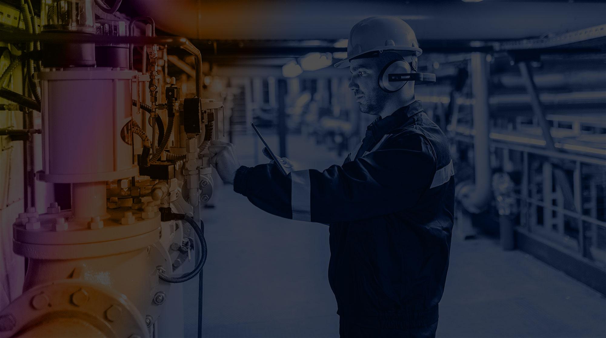 Energy Construction Services Inc. service technician slide