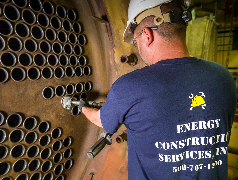 Services - Boiler Maintenance - Energy Construction Services Inc. Boiler Rental