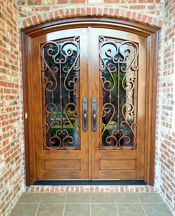 Mississippi Iron Works - Entryway doors