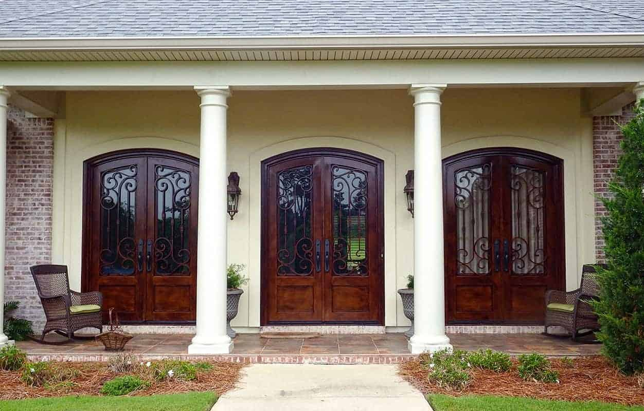 Custom Wrought Iron Doors