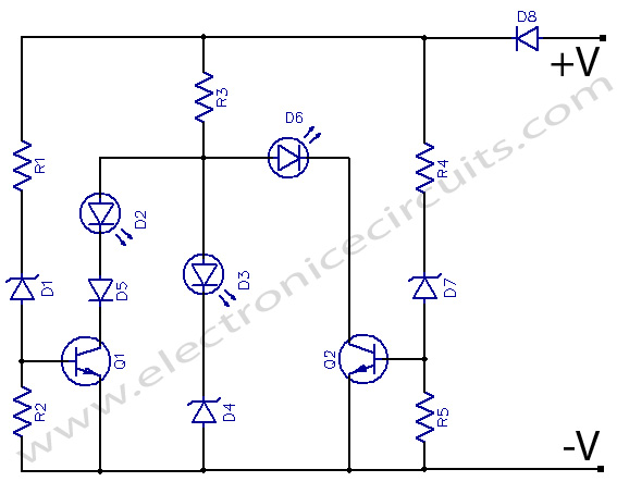 Simple Battery State Indicator circuit