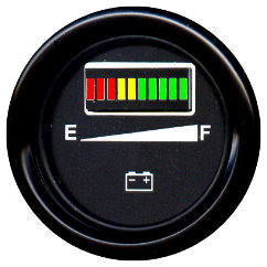 simple battery state indicator