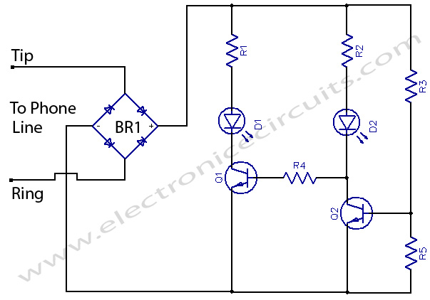 Phone Busy Indicator circuit