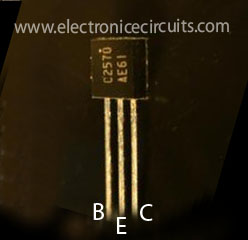 2sc2570 c2570 npn silicon high frequency transistor