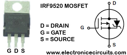 IRF9520 P Channel Power MOSFET