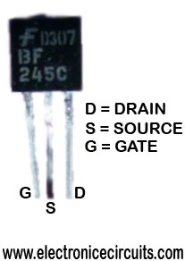 bf245 N-channel silicon field-effect transistor
