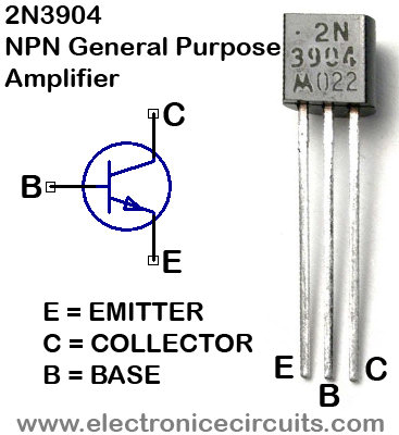 2N3904 NPN Transistor General Purpose Amplifier