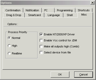 IC Prog Installing Driver for NT, 2000, XP