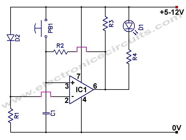 Power Supply Failure Indicator Circuit