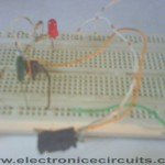 Power Supply off Failure error Indicator Circuit