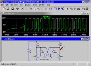 LTspice IV Circuit Simulation Schematic Capture Tool