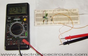 555 IC Negative Voltage Power Supply Circuit