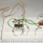 CD4049 Electronic Coin Toss Circuit