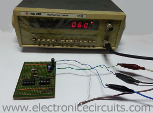 50hz 60hz frequency signal generator circuit using crystal
