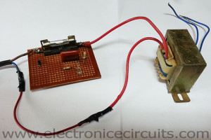 AC Neon Lamp filament or Semiconductor blown fuse Indicator circuit