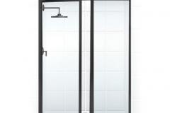 Coastal-Shower-Doors-Legend-Framed-Swing-Shower-Door-and-Inline-Panel