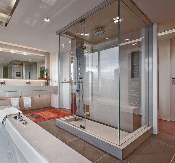 Steam-shower-enclosure