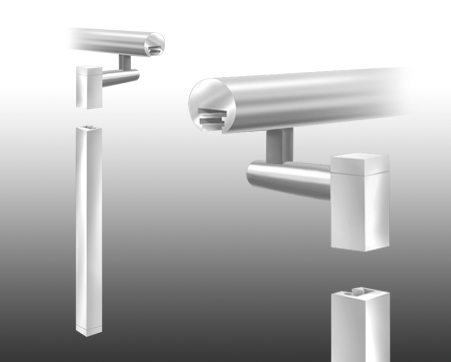 custom_fabricated_hand_rail_post